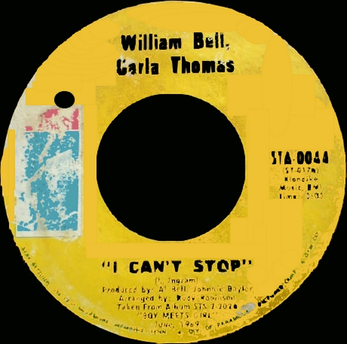 "William Bell : Album "" Bound To Happen "" Stax Records STS 2014 [ US ]"
