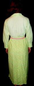 Chemise de nuit Verte.2