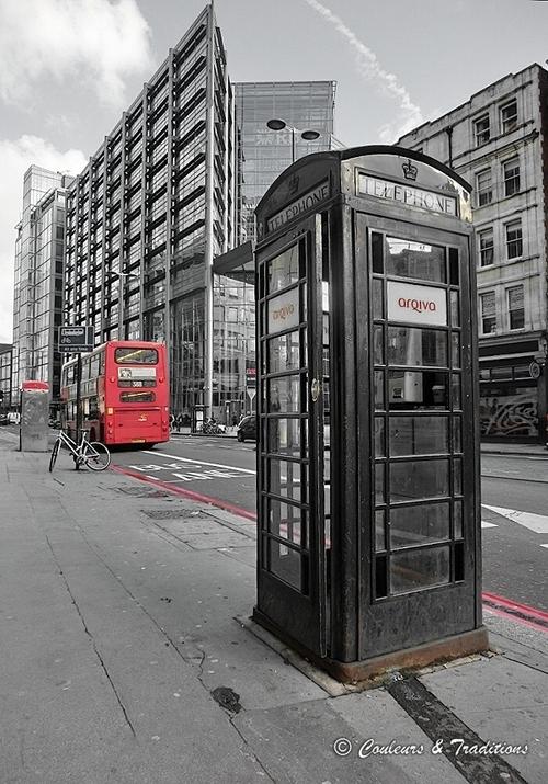 Voir la vie en rouge à Londres
