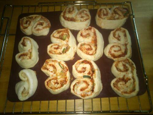 Et pour ce soir, palmiers pizzas
