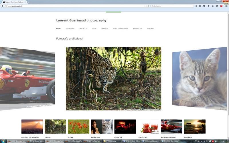 Novo site, novo blog! / Nouveau site, nouveau blog!