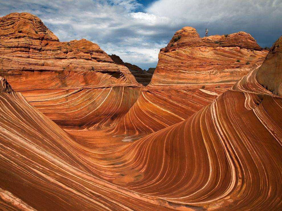 Dunes petrifiees paria canyon Arizona USA