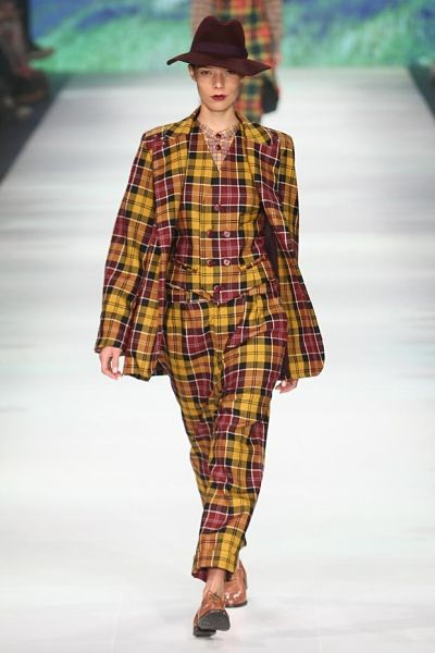 Tartan Girl Sally Edwards