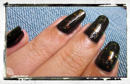 Swatch Chunky holo black