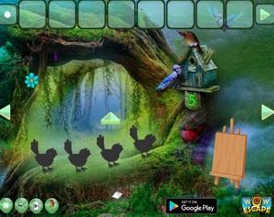 Jouer à Mermaid fantasy forest escape