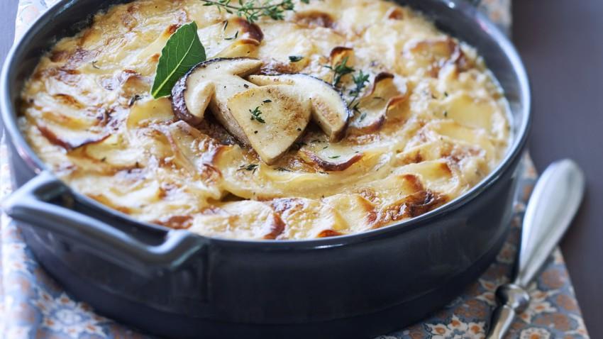 Gratin dauphinois aux cèpes : découvrez les recettes de cuisine de Femme  Actuelle Le MAG