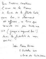 Dédicace du peintre Jean-Pierre Rémon