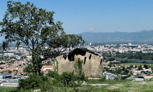 Depuis la colline de Crussol et les Hauts de Guilherand