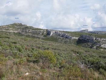 Vue panoramique vers l'Est