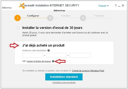 Avast Internet Security 2015 - Licence 2 ans gratuits