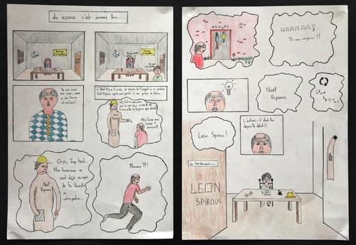 BD 1ères pour le concours scolaire de la BD d'Angoulême