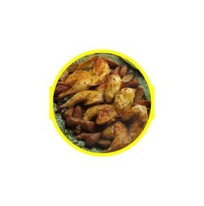 35 poulet épicé aux saucisses