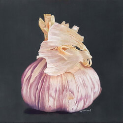 Gousse d'ail 50 x 50 (vendu)  Sylvie Marin-Durand