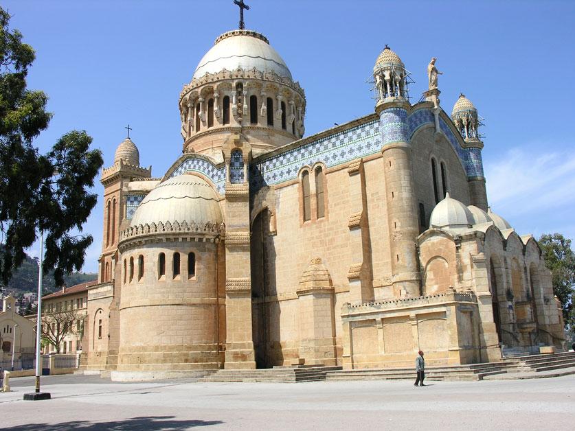 """Résultat de recherche d'images pour """"image Notre Dame d'Afrique à Alger"""""""