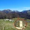 Passage au Turonnet d\'Escourèts ou Turonet d\'Escurets, borne frontière 292