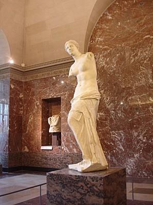 Paris - Musée du Louvres - La Vénus de Milo