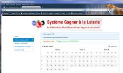 Test 1 - le système pour gagner à la loterie