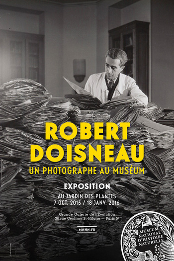 * EXPO * Robert DOISNEAU, « scientifique » au Jardin des Plantes
