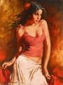 Art Andrew Atroshenco - Peinture Danse Flamenco _ by Anais_Hanahis
