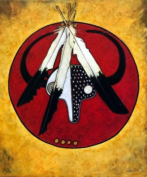 un artiste Crow ► Kevin RedStar
