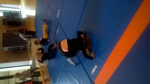 activités gymniques avec les MS et GS