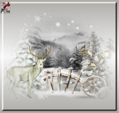 HI0005 - Tube paysage d'hiver