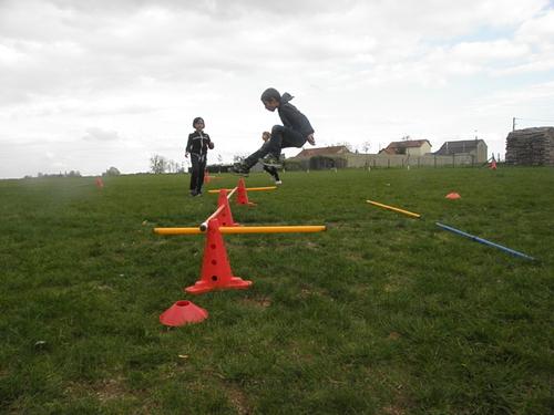 Sport : courir et sauter loin