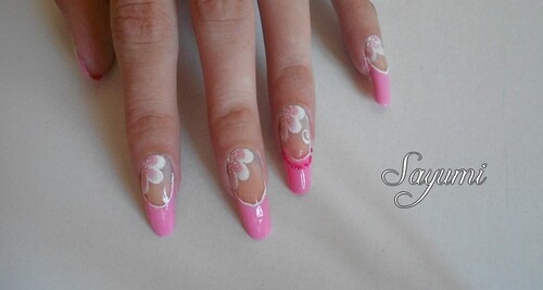 Nail Art Girly Pearl
