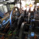 Les grandes roues de la machine à vapeur
