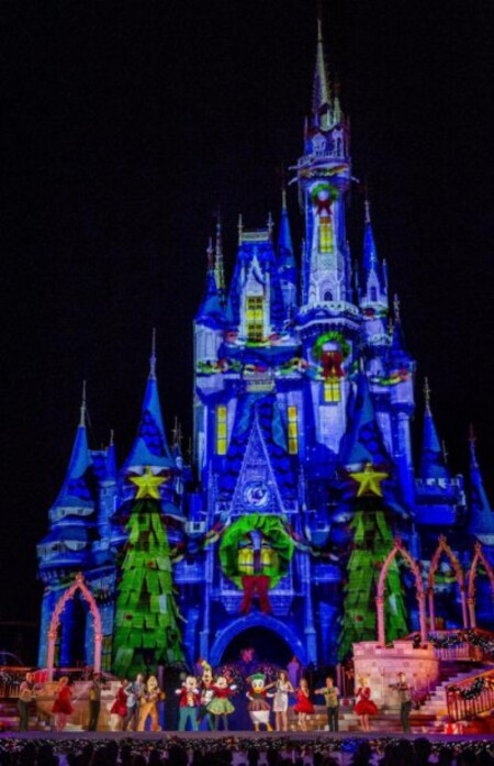 Photos-Villes du Monde 3:  La féerie de Noël à Walt Disney World