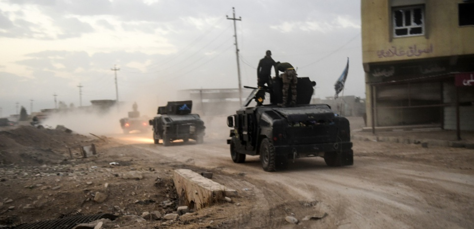 Guerre contre Daech : l'armée irakienne est entrée dans Mossoul