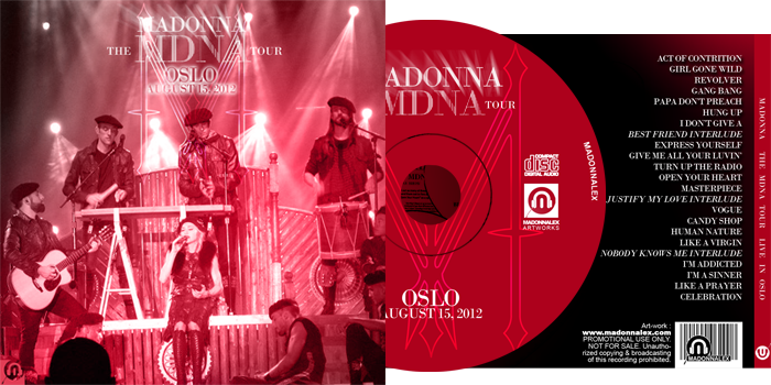 The MDNA Tour - Full Audio Oslo