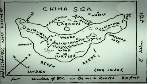 Ile au trésor du capitaine William Kidd, 22 janvier 1645 Ecosse / 23 mai 1701 Angleterre. (Albert Fagioli)