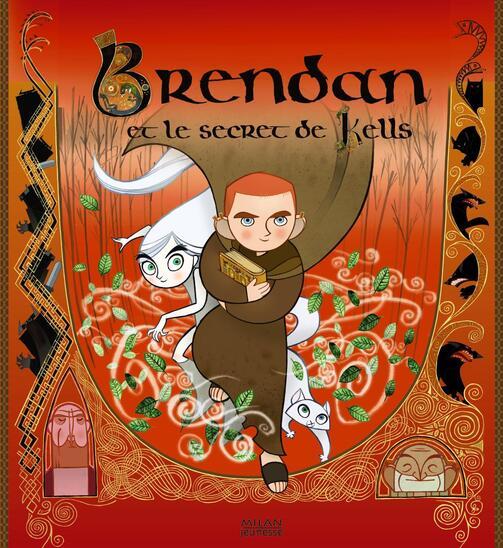 Film d'animation : Brendan et le livre de Kells