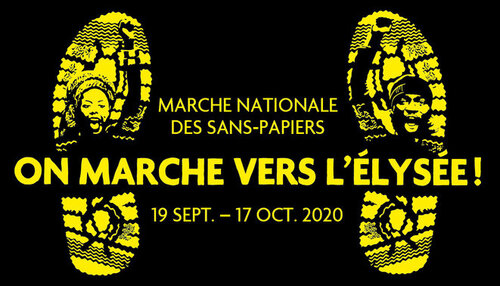 17 Octobre 2020 - Marche des Sans-Papiers : Nous voulons marcher vers l'Elysée !