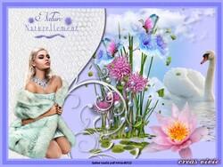 Vos Variantes... fleur bleu