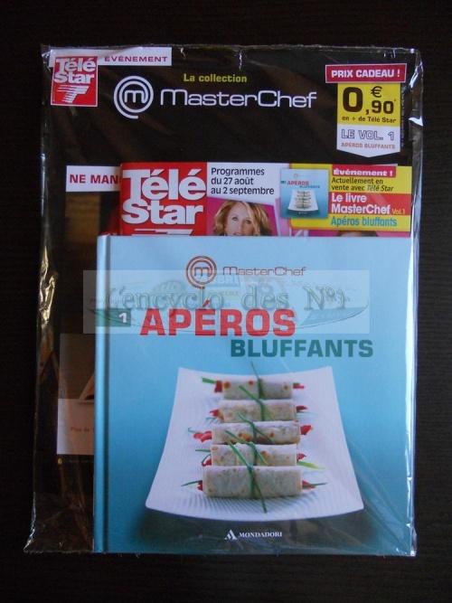 """Collection livres """" Masterchef """" + Télé star ( à partir du 22/08/2011)"""