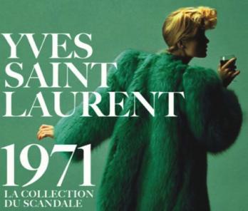 EXPOSITION Yves Saint Laurent 1971