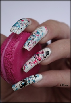Nail Art Splatter!