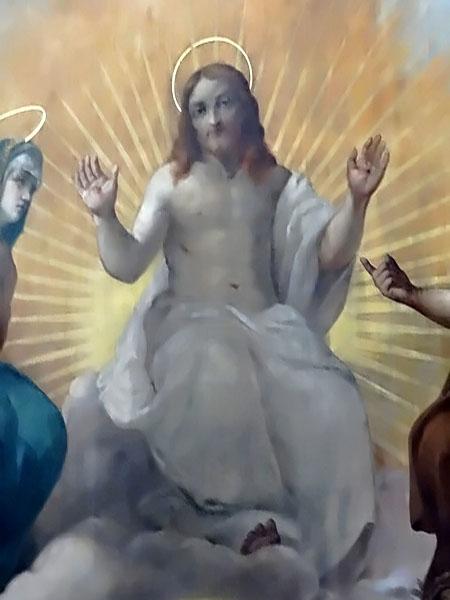 Les tableaux du chœur de l'église Saint Nicolas ont été restaurés...