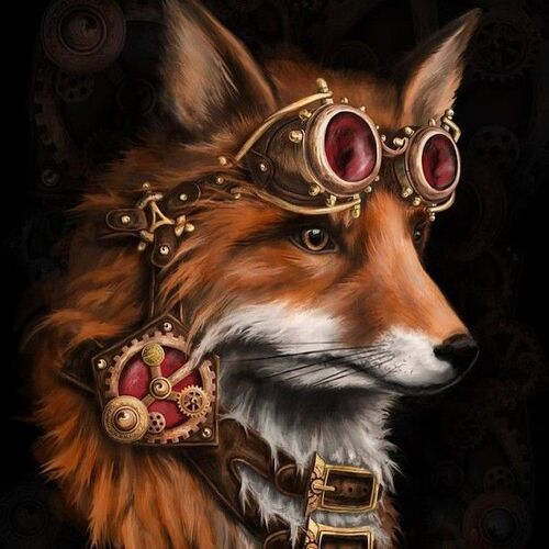 Steampunk-Animaux