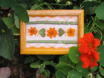 Tableaux de fleurs ou de feuilles pressées