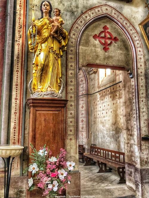 Eglise Notre-Dame-des-Neiges  -  Trie-sur-Baïse (65)
