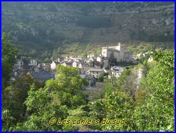 Gorges du Tarn, de Ste Enimie à Castelbouc