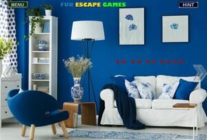 Jouer à Classy dark blue home
