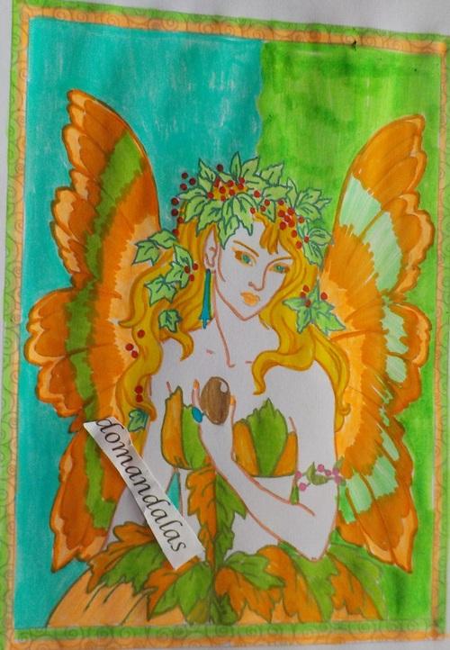 Domandalas fée 3 barbara Lanza enchanted fairies