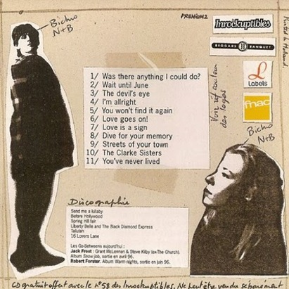 Flash-back: The Go-Betweens - 16 lovers lane acoustic demos (1996)
