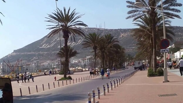 Promenade à Agadir