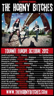 The Horny Bitches - Tournée Europe Automne 2012
