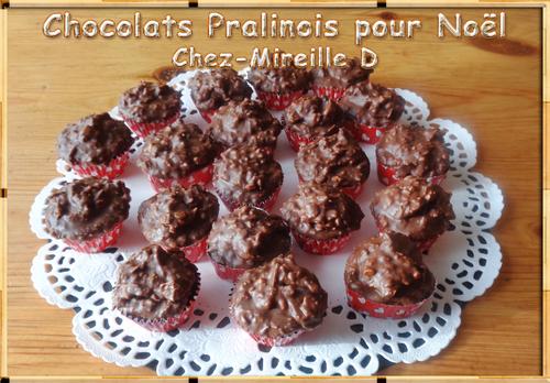 """Recette des Chocolats """"Pralinois"""""""